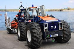 Launch Tractor Bundoran