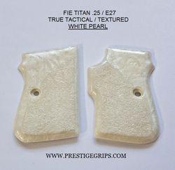 FIE TITAN .25 TRUE TACTICAL WHITE PEARL