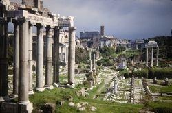 398 Arch of Septimus Roman Forum