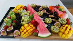 Fruit Platter as part of the staged grazing table