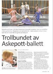Trollbundet av Askepott-ballett