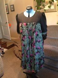 Diane's skirt to dress