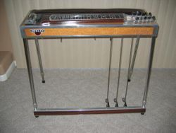 Dekley E9 Pedal Steel Guitar. 3 Floors / 5 Knees.