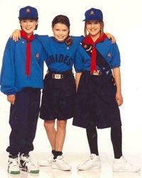 1990 Girl Guide Uniform