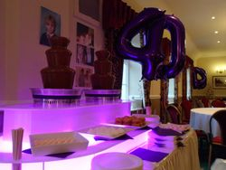 40th Birthday chocolate fountain hire, By Sweet Candy Dreams.