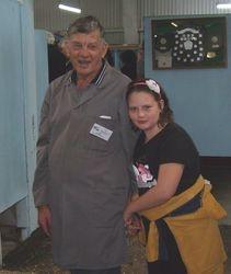 Ray Hall & his Granddaughter Sarah