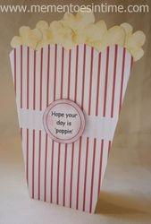 Popcorn Box Card 3