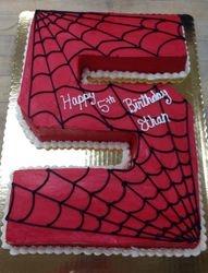 #5 Spiderman Cake
