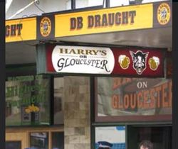Harrys Bar on Gloucester Street