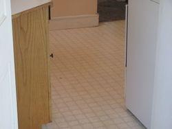 Kitchen Flooring (before)