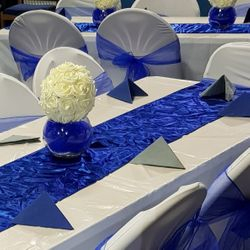 Conference - Blue and Grey Theme