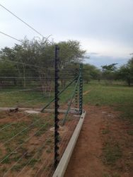 Snake Electric Fence with lintels