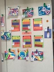 Art from Kindergarten Line Art Drawings