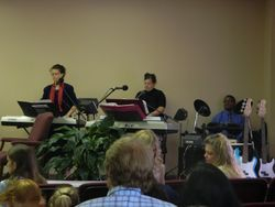 Sis Susan Beale and Worship Leaders 04-22-12