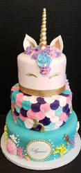 Mermaid/Unicorn Cake