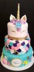 Mermaid/Unicorn Cake
