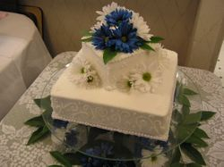 Square two tier