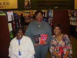 Savvy President with Authors Voncele Savage & Brenda Thomas