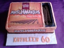 Matchmakers birthday cake