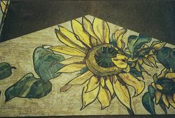 Sunflower Mosaic
