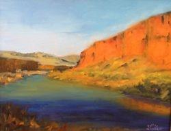 Sunset Gunnison River