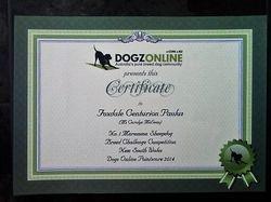 DOL Certificate 2014