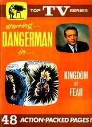 Kingdom of Fear – Danger Man 'Top TV Series' story book