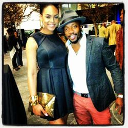 "Demetria McKinney & Anthony Hamilton In North Carolina For The ""CIAA"", March 2013"