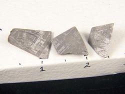 African Gibeon Meteorite Fragments 09-00182