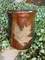 Leaf Utensil Jar