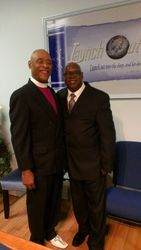 Bishop Albert North and Pastor Jerry Cole