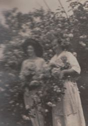 Martha Beaver and Mary Shultz