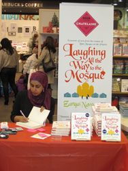 A fantastic book! For more information about her book, go to: http://harpercollins.ca/books/Laughing-All-Way-Mosque-Zarqa-Nawaz/?isbn=9781443416931