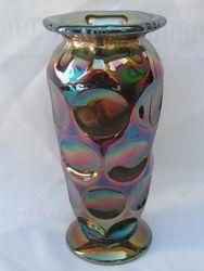 """Kulor 8"""" large size vase blue"""