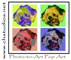Photo-to-art Pop Art