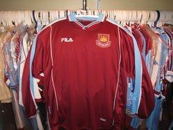 Fila Home 1999 shirt sample