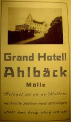 Grand Hotell Ahlbeck 1918