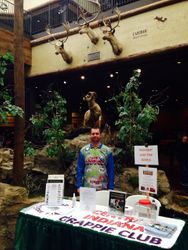 Damon Phillips under the rotunda at the Clarksville store