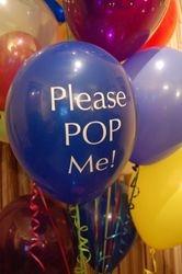 "Add a ""POP ME"" Balloon!"
