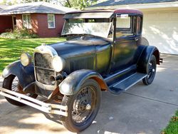 24. 29 Model A coupe