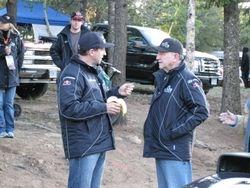 Rhys and Rod Millen