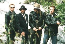 Promo pic - Carl Wyatt & The Rhythm Kings - Irealnd 1996