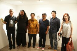 Visual Arts Solo Exhibition  Noor Ibrahim Masks In.Kon.Fe.So