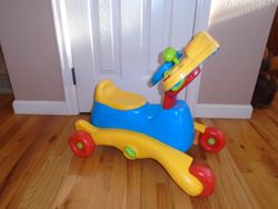 VTech Grow and Go Ride On - $25