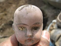 Another Creepy Doll head from a 90s pit