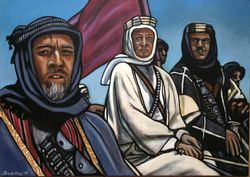 """""""Lawrence of Arabia"""", """"Anthony Quinn"""", """"Peter O?Toole"""", and """"Omar Sharif"""","""
