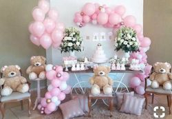 Pink Teddy Party theme