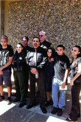 Group Gathering of Family and Fellow Deputy Sheriffs