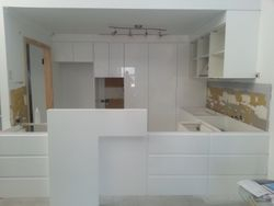 59. New Kitchen with Feature Wall.