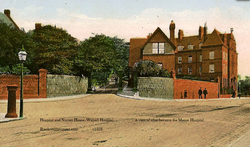 The Manor Hospital. c1900.